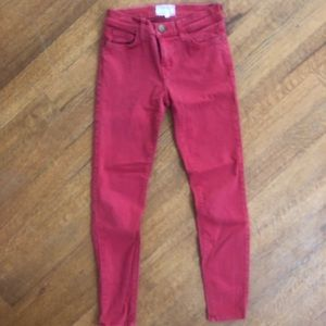 Current Elliott jeans size 25 cotton and stretch